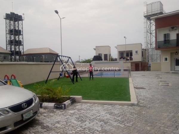 Serviced 4 Bedroom Terrace, Orchid Road, Lekki Expressway, Lekki, Lagos, Terraced Duplex for Rent