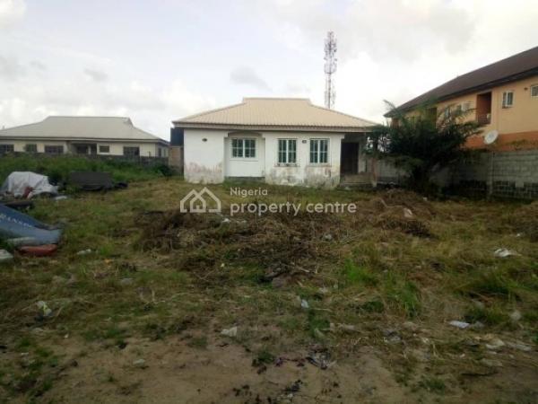 a Plot of Land with Three Bedroom Fully Finished Bungalow, Awoyaya, Lekki Expressway, Lekki, Lagos, Detached Bungalow for Sale