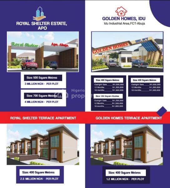 Land, Royal Shelter Estate, Apo Mechanics Along Kabusa Expressway, Apo, Abuja, Land for Sale