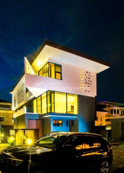 a Brand New Fully Detached 4 Bedroom and 2 Rooms Bq, Banana Island Estate, Banana Island, Ikoyi, Lagos, Detached Duplex for Sale