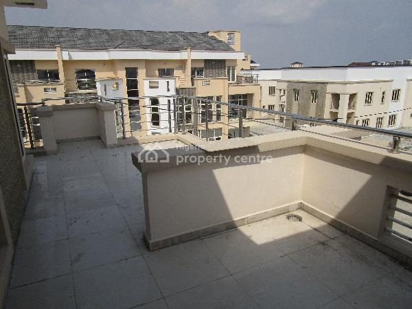 Tastefully Finished 5 Bedroom Terraced Duplex with a Room Bq and Excellent Facilities, Lekki Phase 1, Lekki, Lagos, Terraced Duplex for Rent