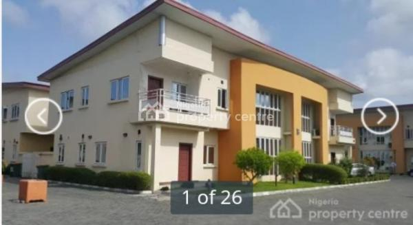 Luxury Finished 4 Bedroom Semi Detached Duplex, Around Chevron Drive, Lekki, Lagos, House for Rent