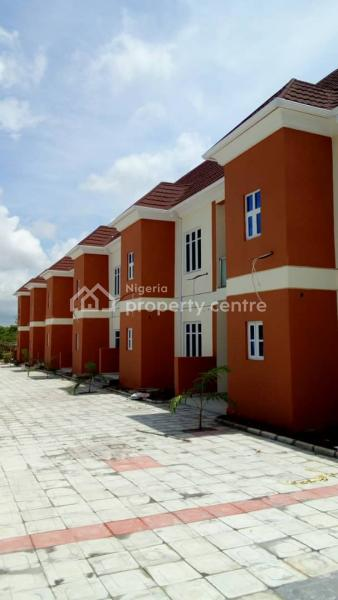 Newly Built 6 Units of 3 Bedroom Terraced Each with 2 Sitting Rooms, After Gaduwa Estate, Route to Lokogoma, Gaduwa, Abuja, Terraced Duplex for Sale