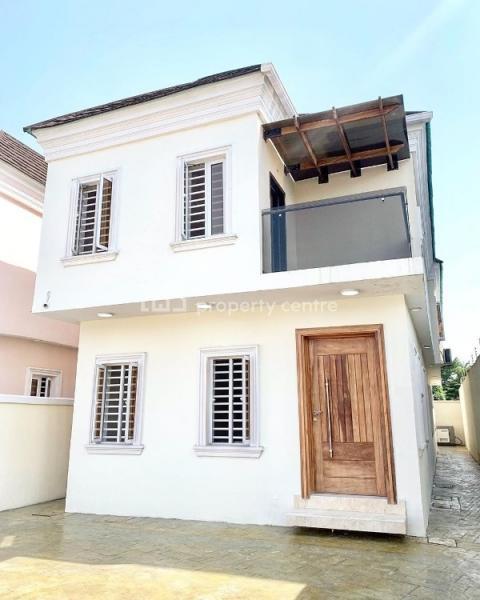 Contemporary Super Functional 4 Bedroom Fully Detached Duplex, Lekki Phase 1, Lekki, Lagos, Detached Duplex for Sale