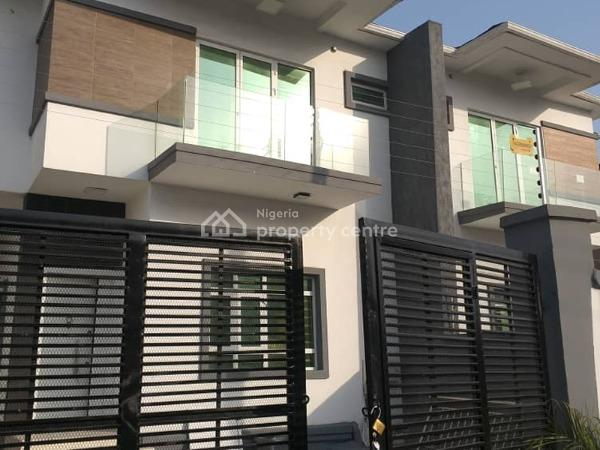 a Lovely 4 Bedroom Semi-detached Duplex with a Room Bq, Osapa, Lekki, Lagos, Semi-detached Duplex for Sale