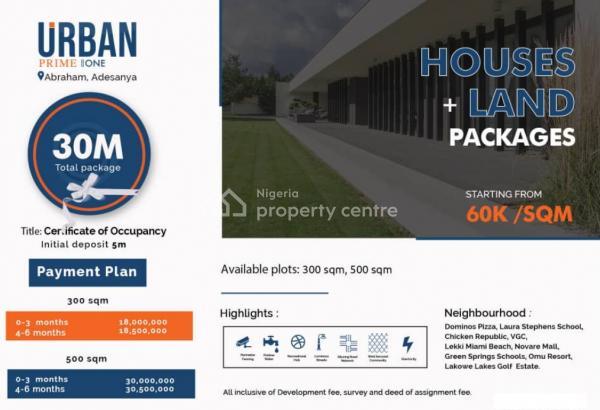 Urban Prime One, Ajah, Lagos, Residential Land for Sale