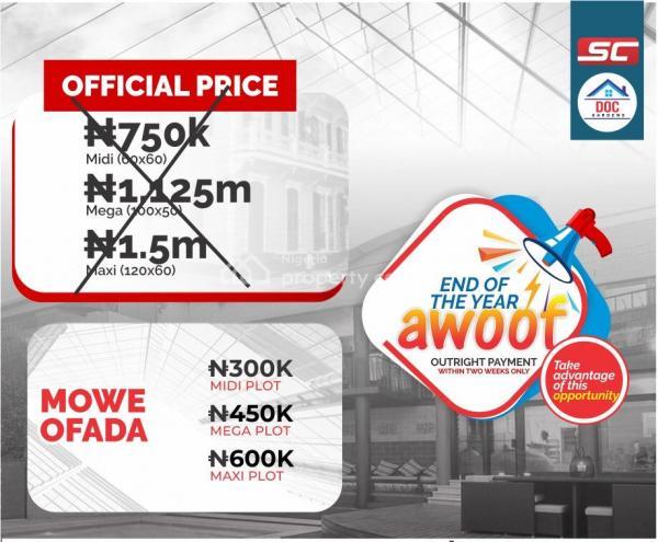 Cheapest Land for Sale, Mowe Ofada, Ogun, Residential Land for Sale