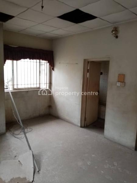 a Very Solid Old Building of 2 Wings Duplex of 4 Bedrooms Plus Bq, on Amore Street, Off Toyin Street, Allen, Ikeja, Lagos, Detached Duplex for Sale
