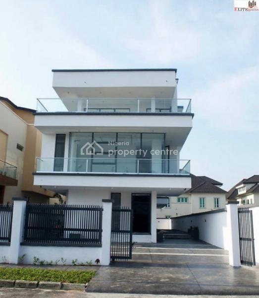 New 4 Bedroom Fully Detached Modern & Contemporary Luxury Triplex | Partly Serviced, Pinnock Beach Estate, Osapa, Lekki, Lagos, House for Sale