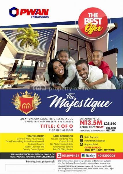 Residential Land - Verified Secured, Awoyaya, Ibeju Lekki, Lagos, Residential Land for Sale