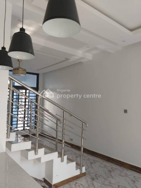 Luxury Modern Design 4 Bedroom Terraced Duplex + Bq in a Serene Secured  Mini Court Environment, Ajah, Lagos, Terraced Bungalow for Sale