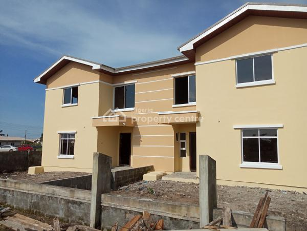 4 Bedroom Duplex All En Suite in a Serviced and Secured Estate, By Novare Mall Shoprite, Sangotedo, Ajah, Lagos, Semi-detached Duplex for Sale