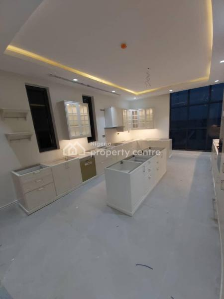 Waterfront 5 Bedroom Fully Detached House with 2 Rooms Serviced Quarters, Banana Island, Ikoyi, Lagos, Detached Duplex for Sale