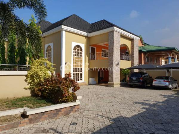 Luxury 9 Bedroom Duplex on Four Plots of Land, Gra Phase 1, Port Harcourt, Rivers, Detached Duplex for Sale