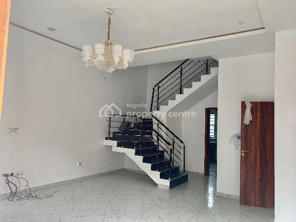 Well Finished Luxury 4 Bedroom with 1 Room Bq Semi Detached Duplex, Chevy View Estate, Lekki, Lagos, House for Rent