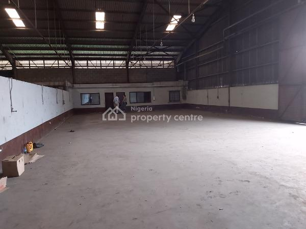 14000 Square Feet Warehouse Shared Compound, Iganmu Road, Iganmu, Lagos, Warehouse for Rent