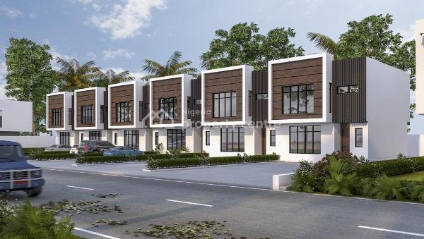 Luxurious 4 Bedroom Terraced Duplex, Orchid Road Opp, Chevy View Estate, Lekki, Lagos, Terraced Duplex for Sale