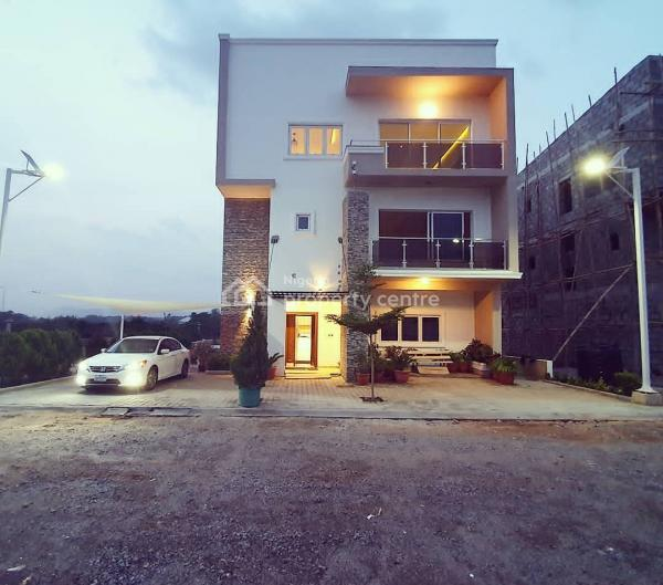 Newly Completed 6 Bedroom Fully Detached House with a Room Bq, Mabuchi, Abuja, Detached Duplex for Sale