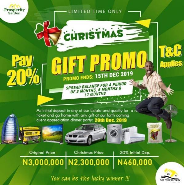 Prosperity Garden, Ibeju Lekki, Lagos, Residential Land for Sale