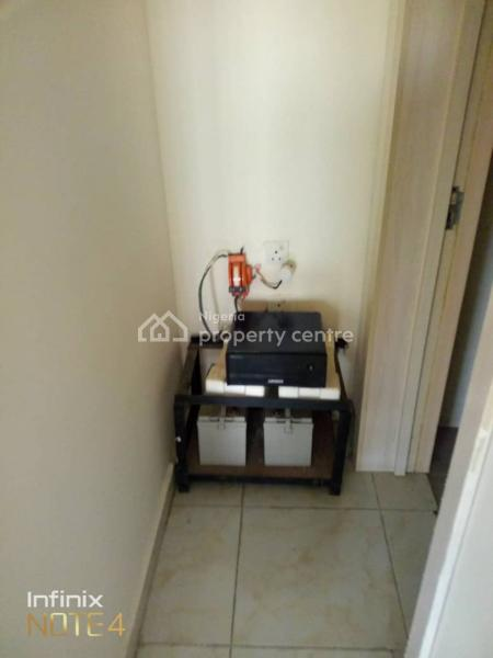 Fully Serviced 3 Bedroom Flat with 1 Room Bq, Atlantic View Estate, Off New Road, Igbo Efon, Lekki, Lagos, Flat for Rent
