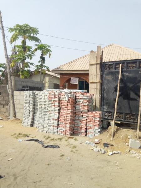 Newly Built Room and Parlour Self Contained, Dame Oyem, Okokomaiko, Ojo, Lagos, Detached Bungalow for Rent