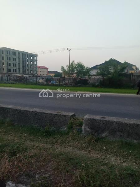 Commercial Plot (facing Expressway) Measuring 1600sqm, Lekki Phase 1, Lekki, Lagos, Commercial Land for Sale