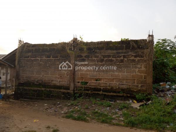Land with 6 Uncompleted Lock-up Shops, Ukwunwangwu Market, Uturu,, Isuikwuato, Abia, Commercial Property for Sale