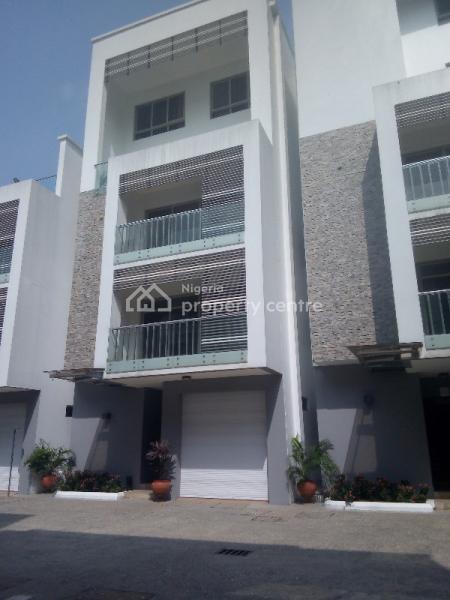 Superb 10 Units of 4 Bedroom Terrace Duplex, Off Rumen Road, Old Ikoyi, Ikoyi, Lagos, Terraced Duplex for Rent