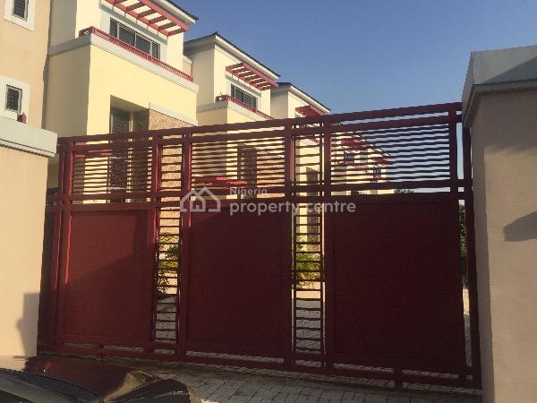 Newly Built Four Bedroom Terrace Duplex, Katampe Extension, Katampe, Abuja, Terraced Duplex for Sale