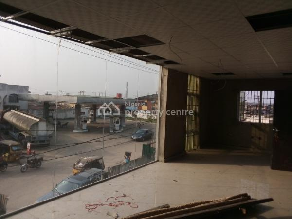 New Open Plan Office Space on 3 Floors, Dopemu, Agege, Lagos, Office Space for Rent