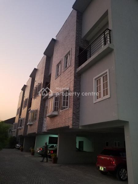 3 Bed Terrace Duplex with State of The Art Finish, Ikate Elegushi, Lekki, Lagos, Terraced Duplex for Rent