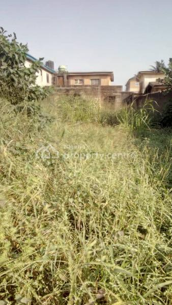 Half Plot of Land with 3bedroom Setback, Karimu Laka/ Bamisile Street, Egbeda, Alimosho, Lagos, Land for Sale