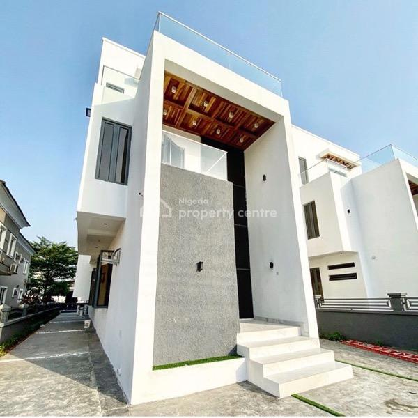 5 Bedroom Fully Detached Duplex with a Room Bq, Osapa London, Osapa, Lekki, Lagos, Detached Duplex for Sale