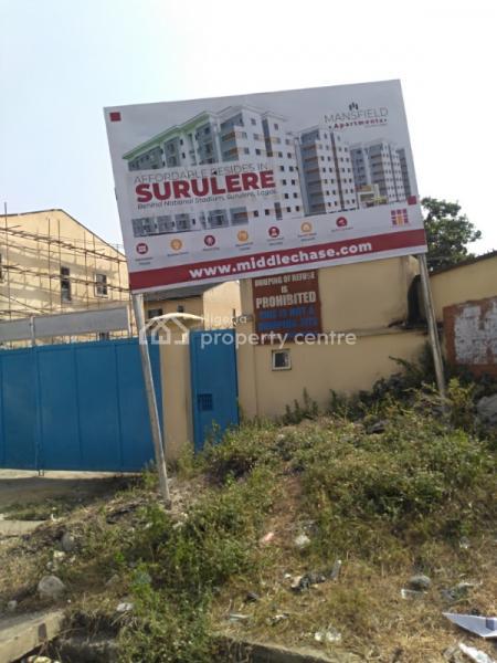 4 Bedroom Maisonette at Mansfield Apartments, Iyun Road, Behind National Stadium, Barracks, Surulere, Lagos, Block of Flats for Sale