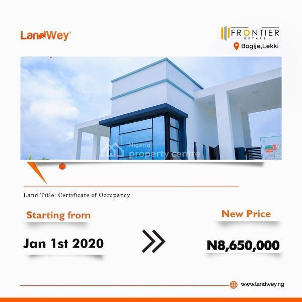 600sqm Plot of Land, at Frontiers Estate, Bogije, Ibeju Lekki, Lagos, Residential Land for Sale