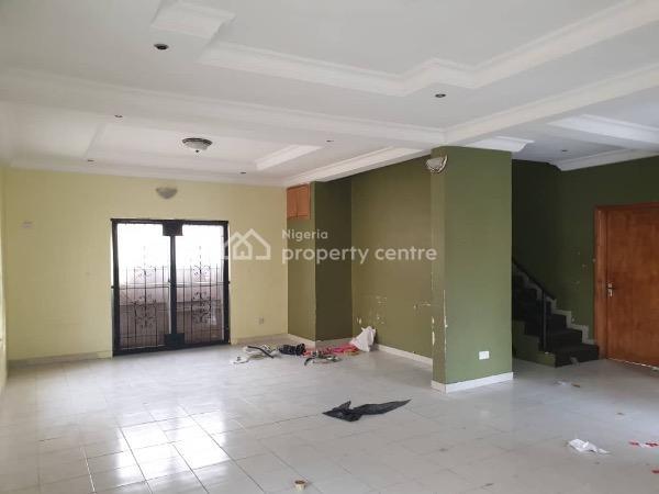 4 Bedroom Detached Duplex Wit Bq, Northern Foreshore, Off Chevron Drive, Lekki, Lagos, Detached Duplex for Rent
