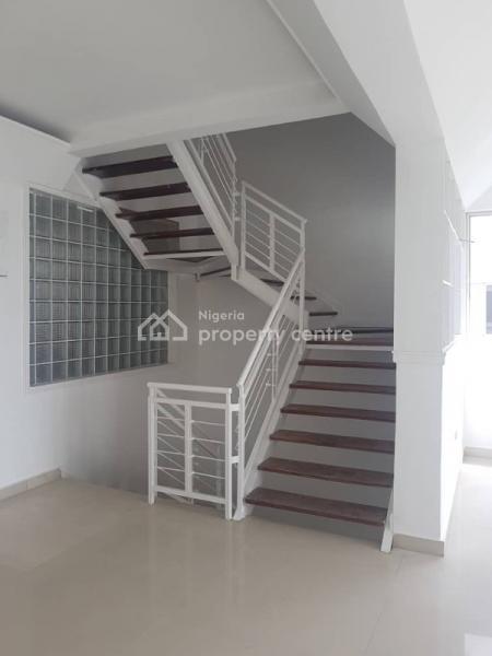 Serviced 4 Bedroom Terrace with Bq, Banana Island, Ikoyi, Lagos, Terraced Duplex for Rent