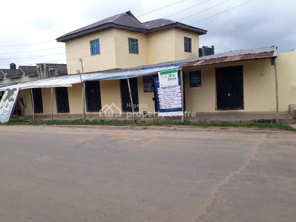 4 Units of Room Self Contained with 8 Shops, Along Idi Ishin Road, After Nihort., Jericho, Ibadan, Oyo, Shop for Sale