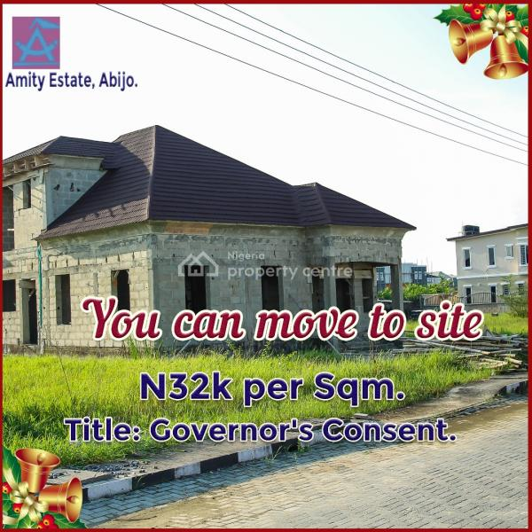 Affordable Land with Governors Consent in a Fully Residential Estate, Sangotedo, Ajah, Lagos, Residential Land for Sale