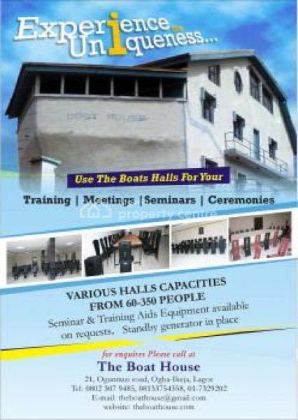 Boat House Training and Event Center, 21, Ogunnusi Road, Ogba, Ikeja, Lagos, Ogba, Ikeja, Lagos, Conference / Meeting / Training Room for Rent