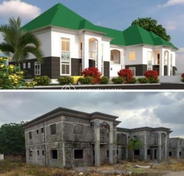 5 Bedroom Semi-detached Duplex with Bq, Behind Prince Ebaeno Supermarket, Lokogoma, Easy Access Road to Garki, Lokogoma District, Abuja, Semi-detached Duplex for Sale