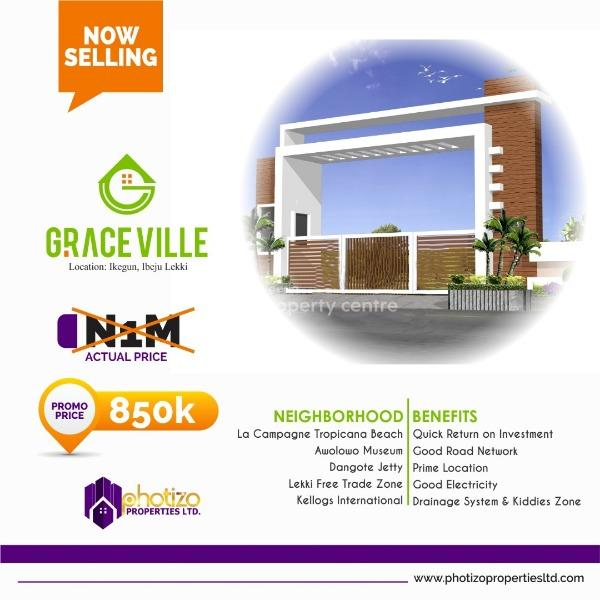 Graceville Estate, Opp La'campagne Tropicana Beach Resort, Ibeju Lekki, Lagos, Residential Land for Sale