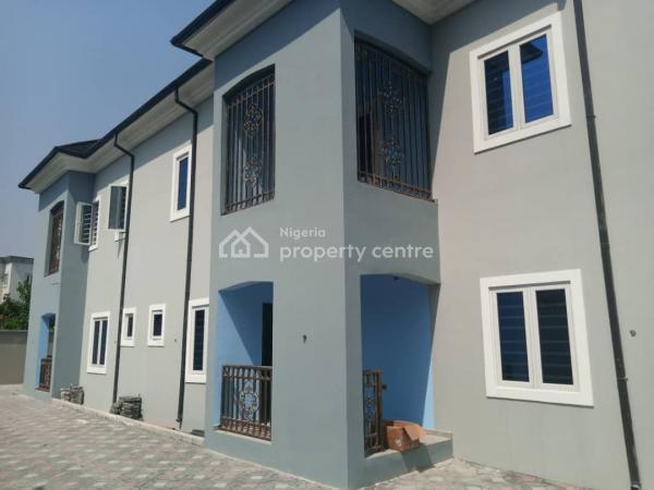 Luxurious Virgin 3 Bedroom Duplex with 3 Parlors, Eneka, Port Harcourt, Rivers, Terraced Duplex for Rent