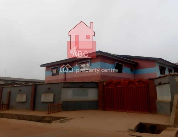 Block of 4 (units of 3 Bedroom Flat, Amusan Street, Abule Egba, Agege, Lagos, Flat for Rent