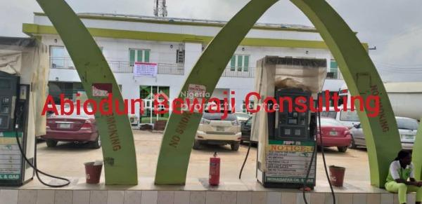 Best Value Filling Station, New Oko Oba, New Oko-oba, Agege, Lagos, Commercial Property for Sale