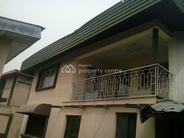 4 Bedroom Semi Detached House with 4 Rooms, Close to Zenith Bank, Anthony, Maryland, Lagos, Office Space for Rent