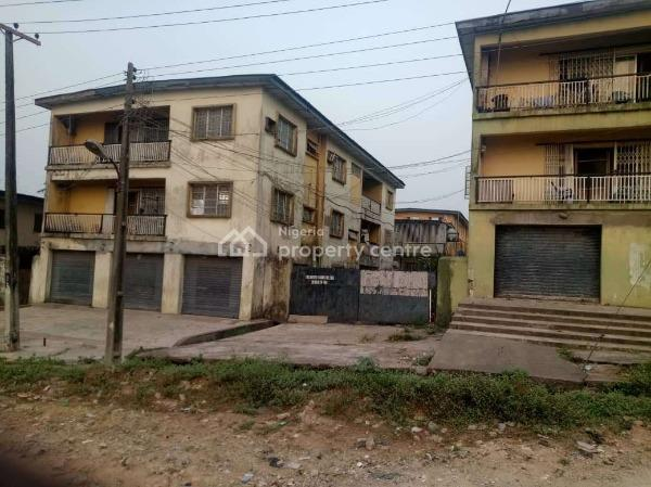 2 Blocks of 5 Nos 3 Bedroom Flat with a Frontage 150sqm Store, Mulero, Agege, Lagos, Block of Flats for Sale