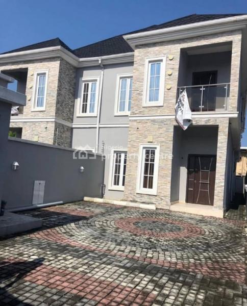 Brand New 4 Bedroom Semi Detached Duplex with Bq in an Estate, Osapa, Lekki, Lagos, Semi-detached Bungalow for Sale