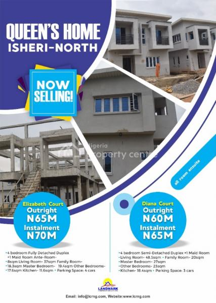 Queens Home, Isheri North, Ogun, Detached Duplex for Sale