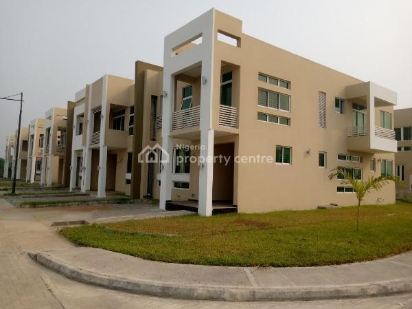 3 Bedroom Terrace Duplex with Bq, Sangotedo( Not Far From Novare Mall), Sangotedo, Ajah, Lagos, Terraced Duplex for Rent